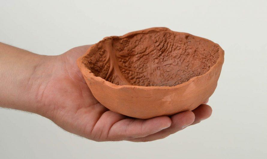 Простейшая посуда из глины в условиях выживания!