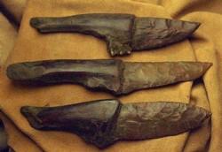 Каменный нож в условиях выживания