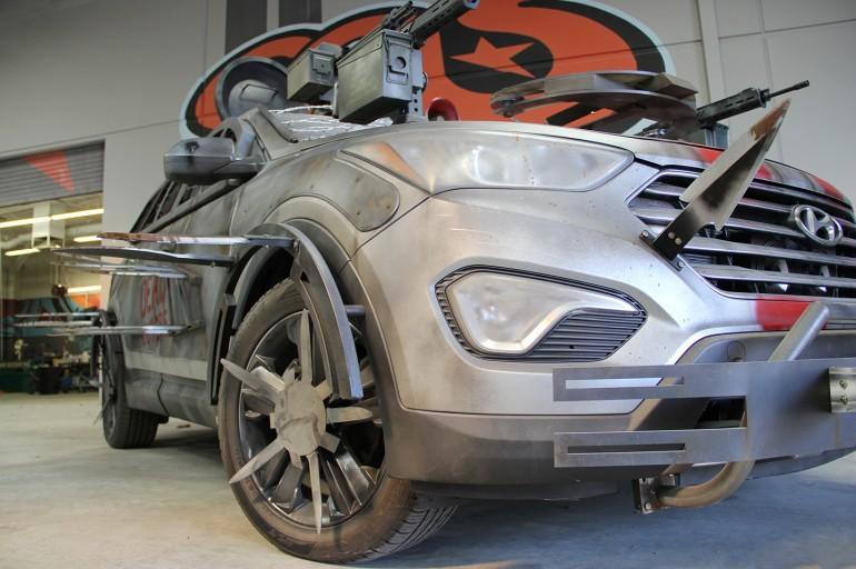 Машина зомби апокалипсиса