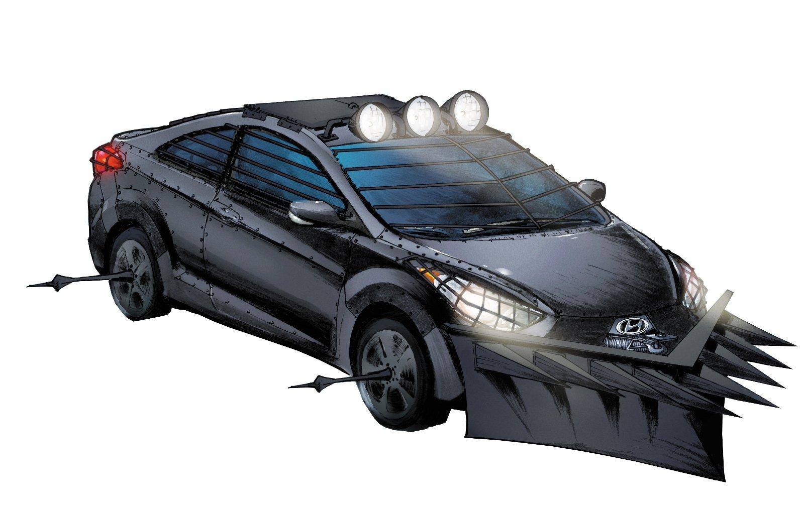 Зомбимобиль от Hyundai