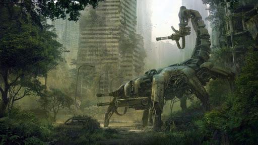 Скорпионоподобный робот