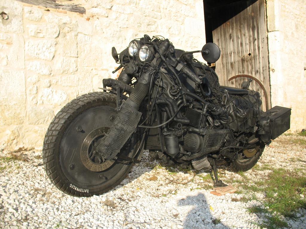 мотоцикл выживальщика