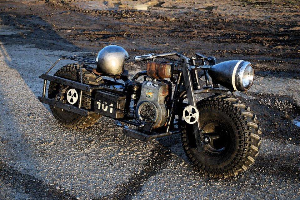 Fallout мотоцикл