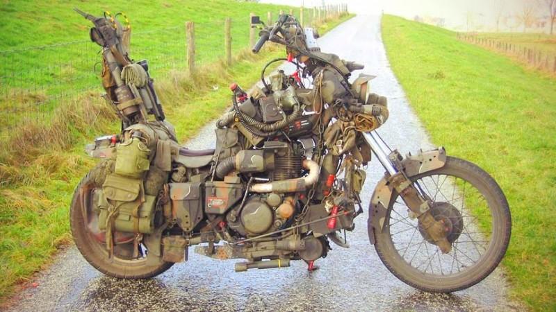 мотоцикл для выживания