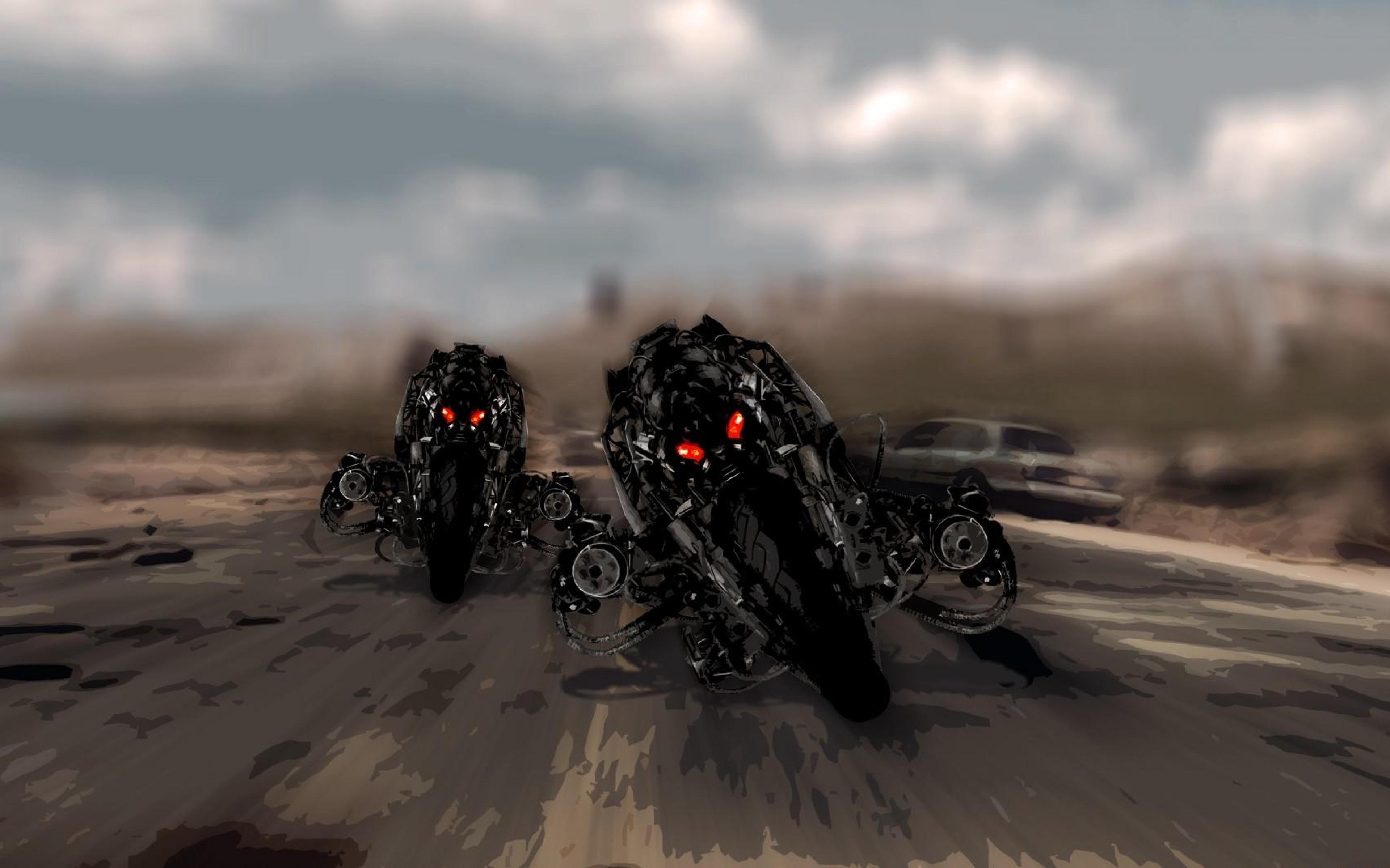 мотоцикл терминатор