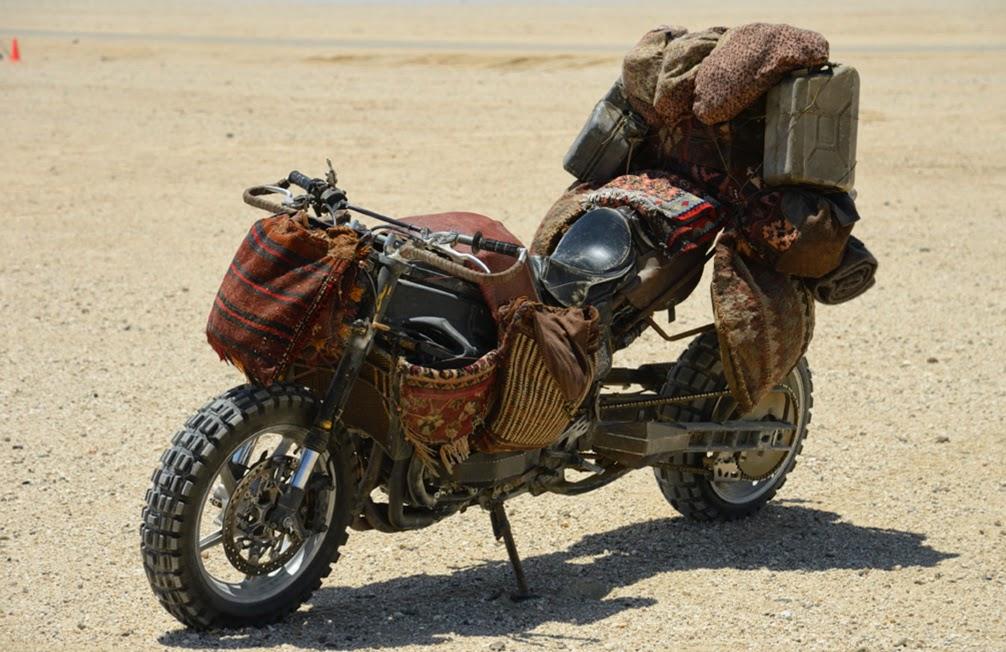 пост апокалипсис мотоцикл
