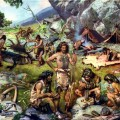 племя у костра
