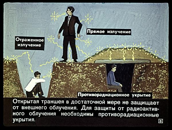 укрытие от радиации своими руками