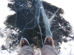 выживание на льду