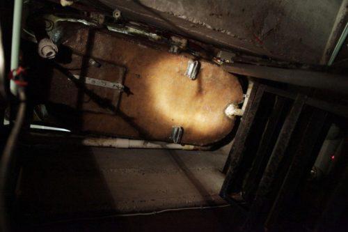 тунель под ванной