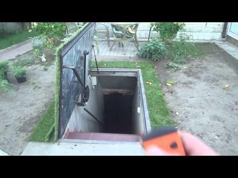 бункер под травой