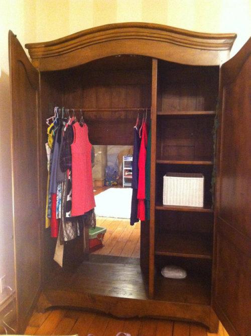 шкаф вход