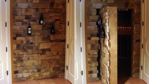 дверь стена