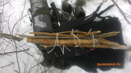 самодельная зимняя лопата