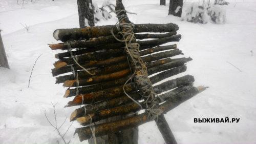 лопата для снега в походе