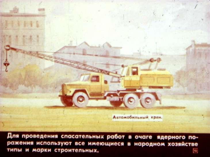Гражданская оборона в зоне ядерного поражения