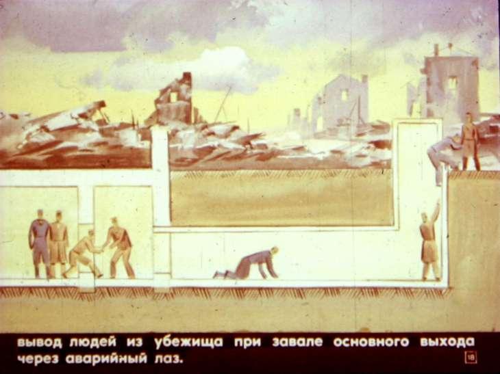 убежище завал радиация