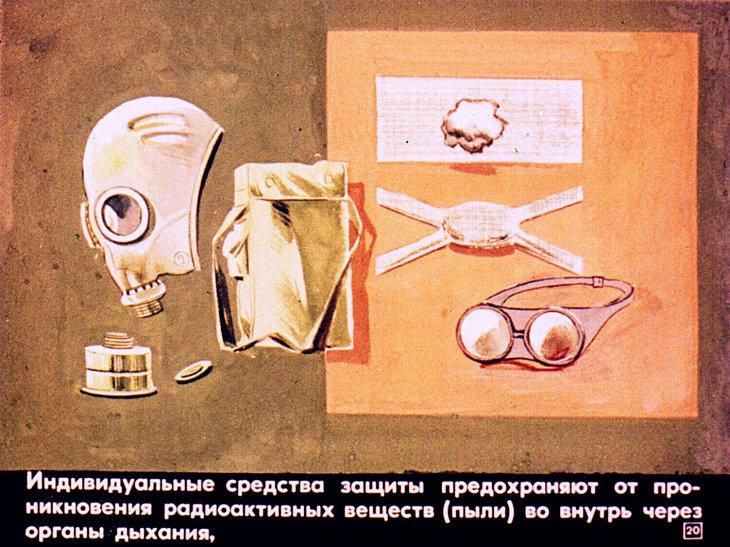 личная защита от радиации