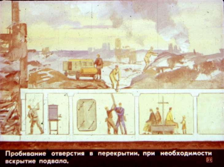 гражданская оборона спасение под завалами