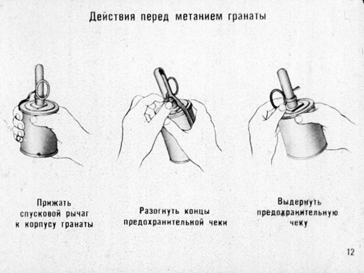 как метать гранату