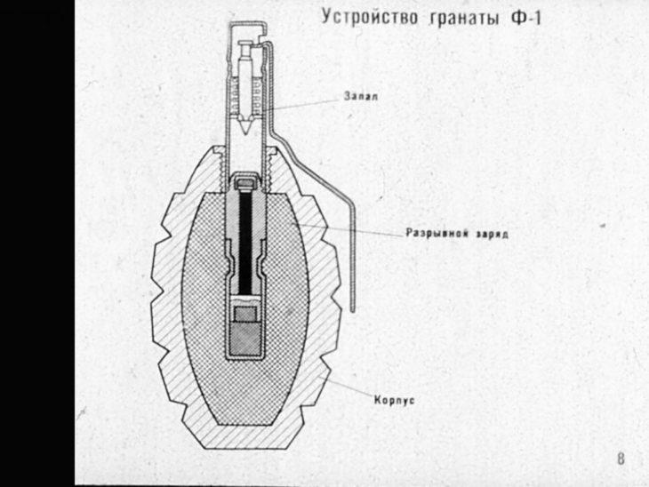 граната ф 1