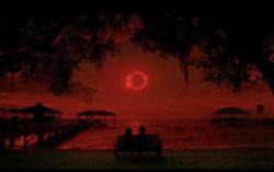 красно черное солнце