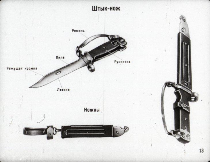 калашников штык нож