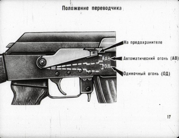 калаш режим стрельбы и безопасность