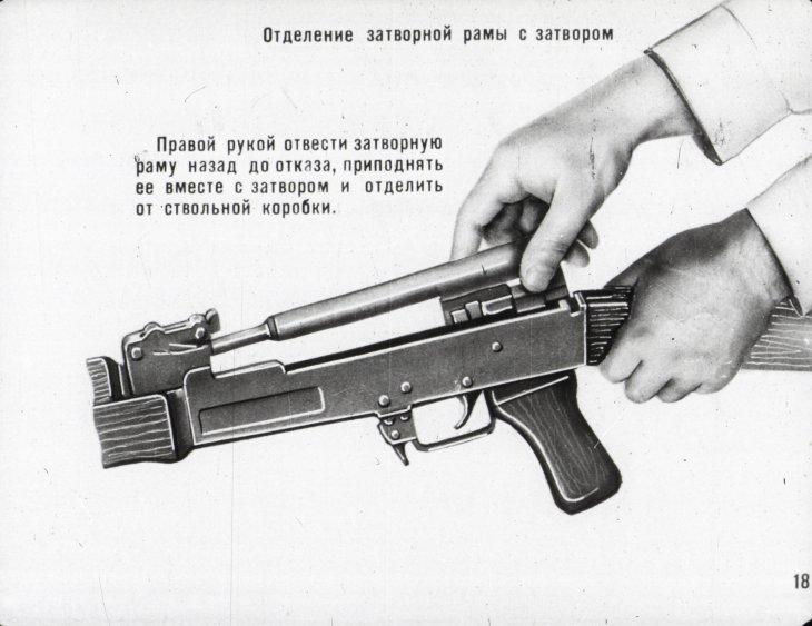 боевой автомат калашников