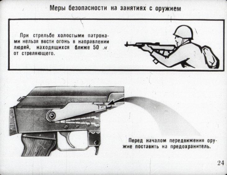 положение стрельбы ака