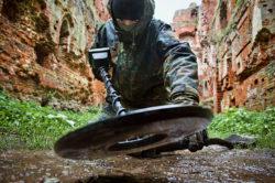 выживание с металлоискателем