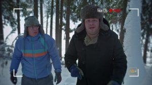 Школа выживания Игоря Муравьедова зимой. (Видео от ХБ)
