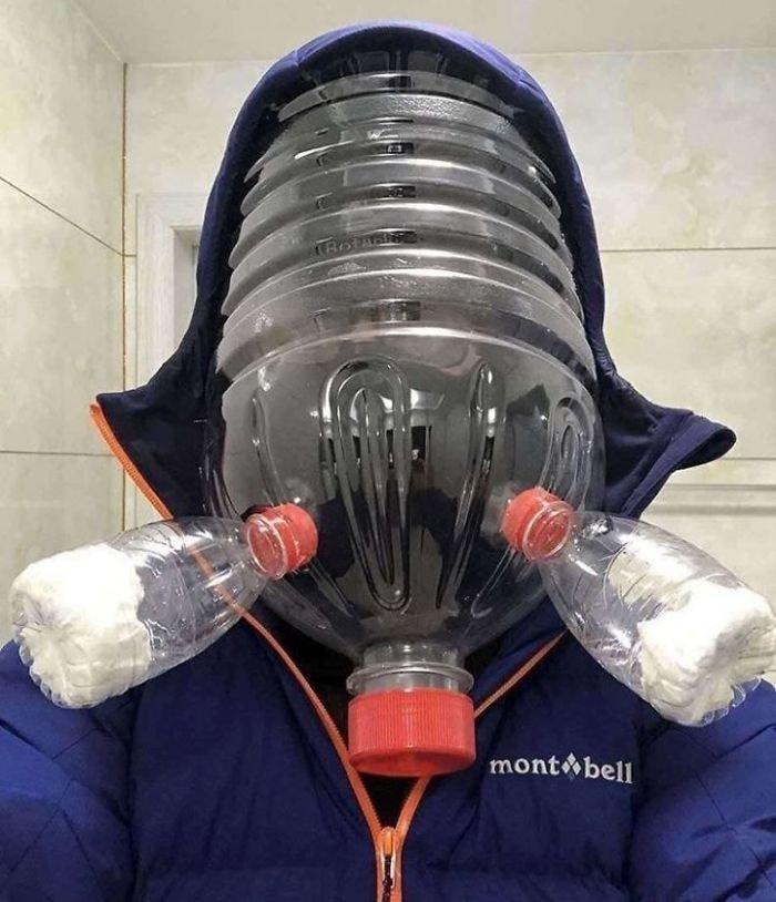 креативная защита от коронавируса