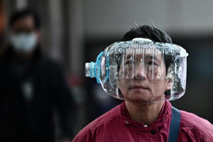 защита от коронавируса из бутылок