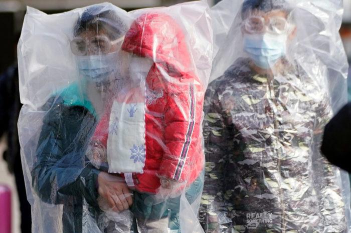 защита от коронавируса из пакета